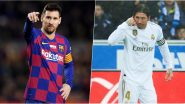 Barcelona Begin La Liga Title Defence at Mallorca on June 13, Real Madrid to Host Eibar the Following Day