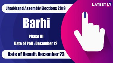 Barhi Vidhan Sabha Constituency in Jharkhand: Sitting MLA, Candidates For Assembly Elections 2019, Results And Winners