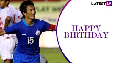 Bhaichung Bhutia Birthday Special: Interesting Facts About Indian Football's Sikkimese Sniper