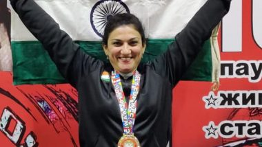Bhavna Tokekar Wins Gold Medal At World Powerlifting Championship in Moscow
