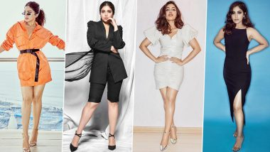 In Pics: Bhumi Pednekar's Hit and Miss Fashion Affair for Pati Patni aur Woh Promotions