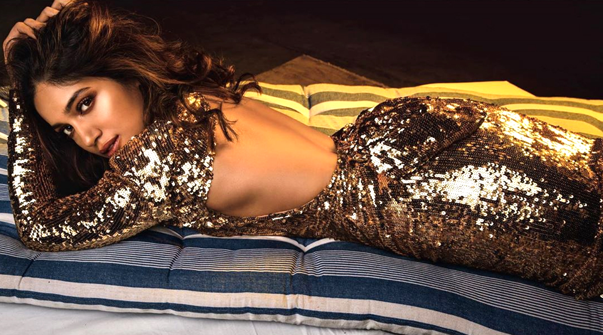 Bhumi Pednekar Turns Into a Sexy Siren in a Backless Sequin Dress As She Poses for Vogue India's Latest Issue (View Pics)