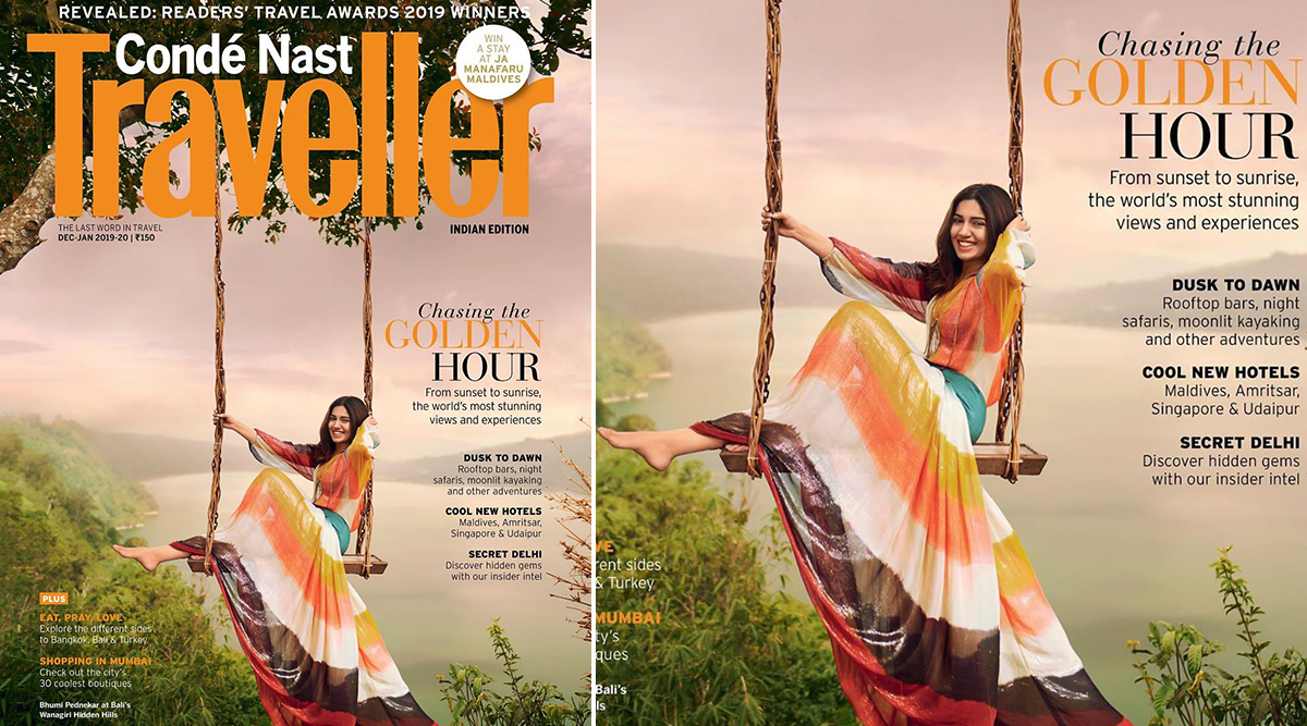 Eat, Pray, Love, Repeat – Bhumi Pednekar Explores the World as a Cover Girl for Traveller Magazine!