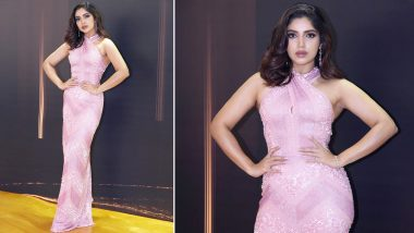 Bhumi Pednekar – Shines, Smiles, Sparkles in Pink Naeem Khan Gown at IIFAM 2019 (View Pics)
