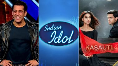 Bigg Boss 13: Salman Khan's Controversial Show Beats Indian Idol 11 and Kasautii Zindagii Kay 2, Grabs a Spot in Top 10!