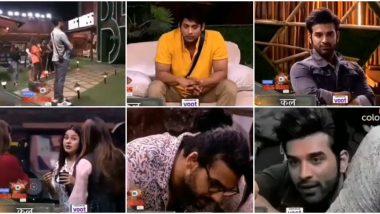 Bigg Boss 13 Day 60 Preview: Shehnaaz Gill Gets Upset With Sidharth Shukla Over Nominations, Vishal Aditya Singh Instigates Paras Chhabra (Watch Video)