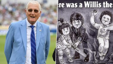 Amul Pays Tribute to Bob Willis Who Passed Away at 70, View Pic of Topical Ad in Honour of Former English Cricketer