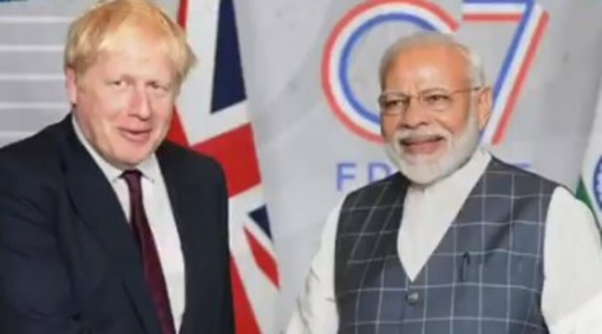 'Hope to See You in Perfect Health Very Soon': PM Narendra Modi to UK Counterpart Boris Johnson, Who Has Been Hospitalised Due to Coronavirus