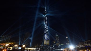 Dubai New Year 2020 Fireworks at Burj Khalifa Live Streaming Online: Watch New Year's Eve Celebration & Laser Show at World's Tallest Skyscraper