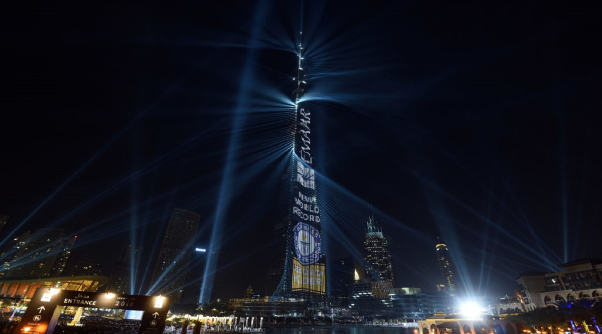 Dubai New Year 2020 Fireworks at Burj Khalifa Live Streaming Online: Watch New Year's Eve Celebration & Laser Show at World's Tallest Skyscraper