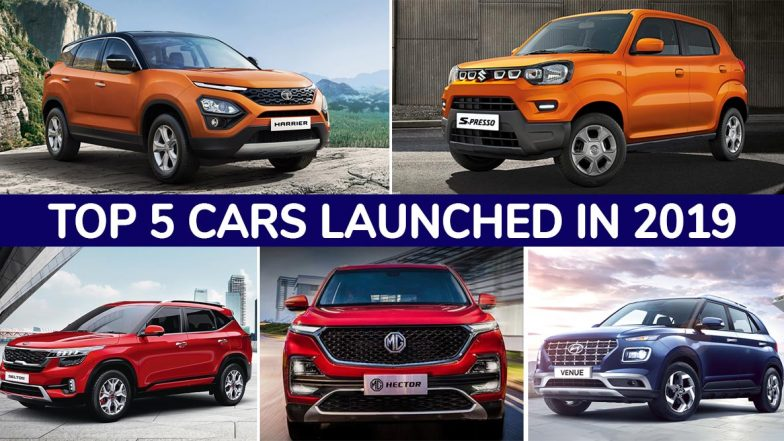Top 5 Cars Launched in India During 2019: Maruti S-Presso, Kia Seltos, MG Hector, Tata Harrier & Hyundai Venue
