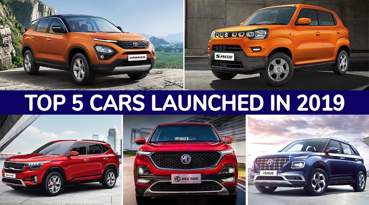 Top 5 Cars Launched in India During 2019: Maruti S-Presso, Kia Seltos, MG Hector, Tata Harrier & Hyundai Venue