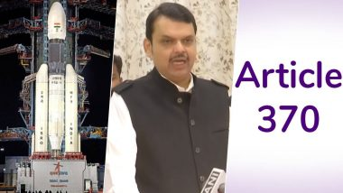 Year Ender 2019: From Bifurcation of Jammu & Kashmir to Devendra Fadnavis's Early Morning Swearing-In, News That Stunned The Nation