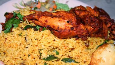 Chicken Biryani, Most Loved Dish in 2019, Indians Ordered 95 Biryanis per Minute From Swiggy in The Year: Report
