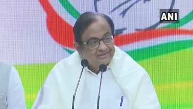 P Chidambaram, Out of Jail in INX Media Case, Fires at Modi Govt Over 'Clueless' Approach to Revive Economy