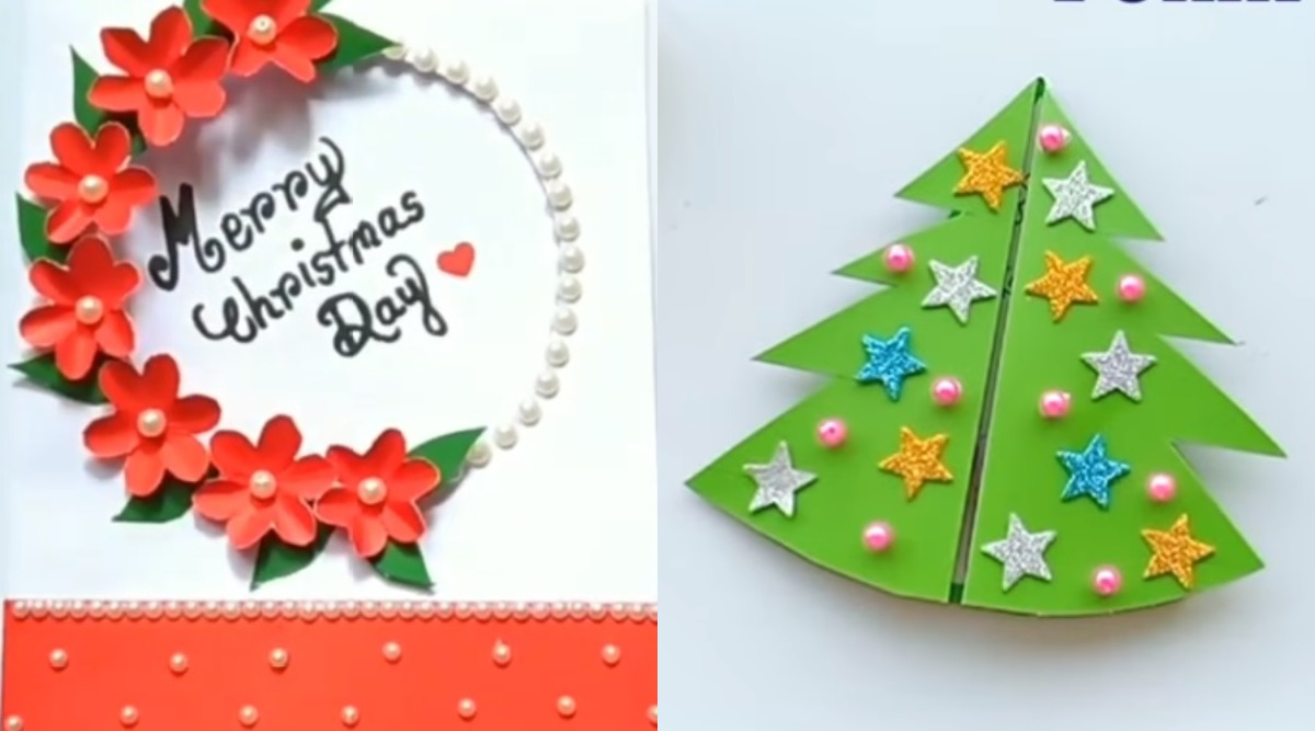 Christmas 2019 Greeting Cards 5 Beautiful Diy Xmas Card Ideas To Make And Wish On The Festival Watch Videos Latestly