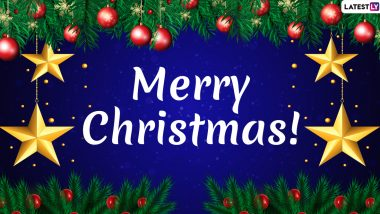 Merry Christmas 2019 and Happy Holidays Wishes: WhatsApp Stickers, GIF Images, SMS, Facebook Messages And Quotes to Send XMas Greetings