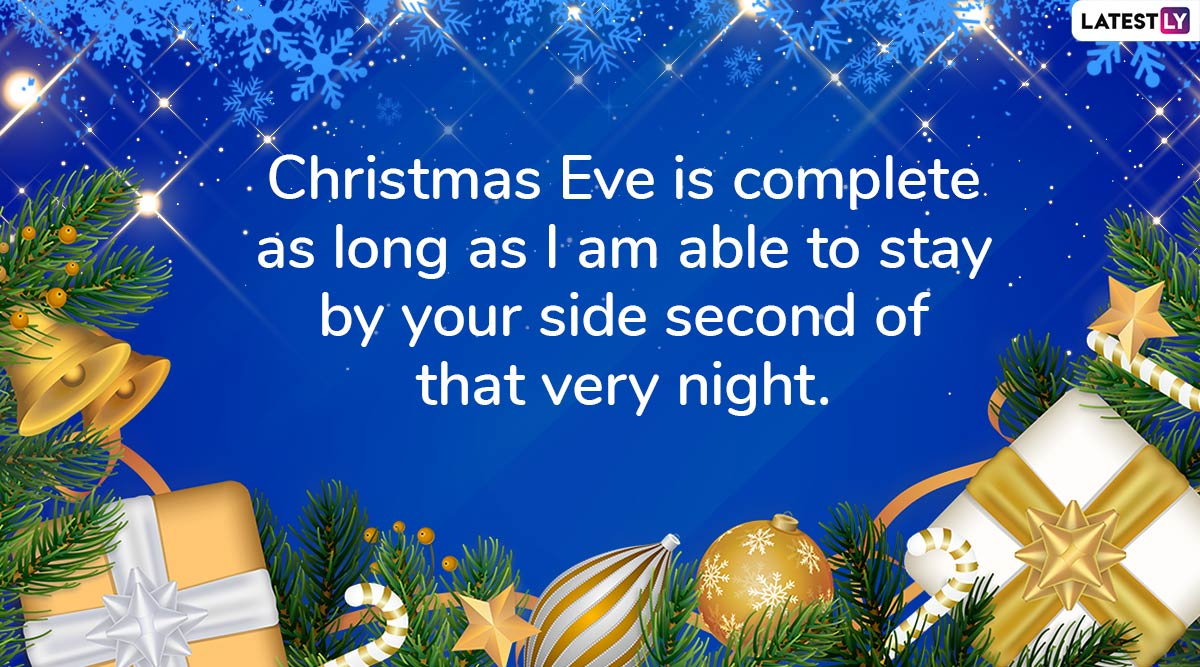 Merry Christmas Eve 2019 Wishes & Images: WhatsApp Stickers, Xmas Greetings, GIF Image Messages ...
