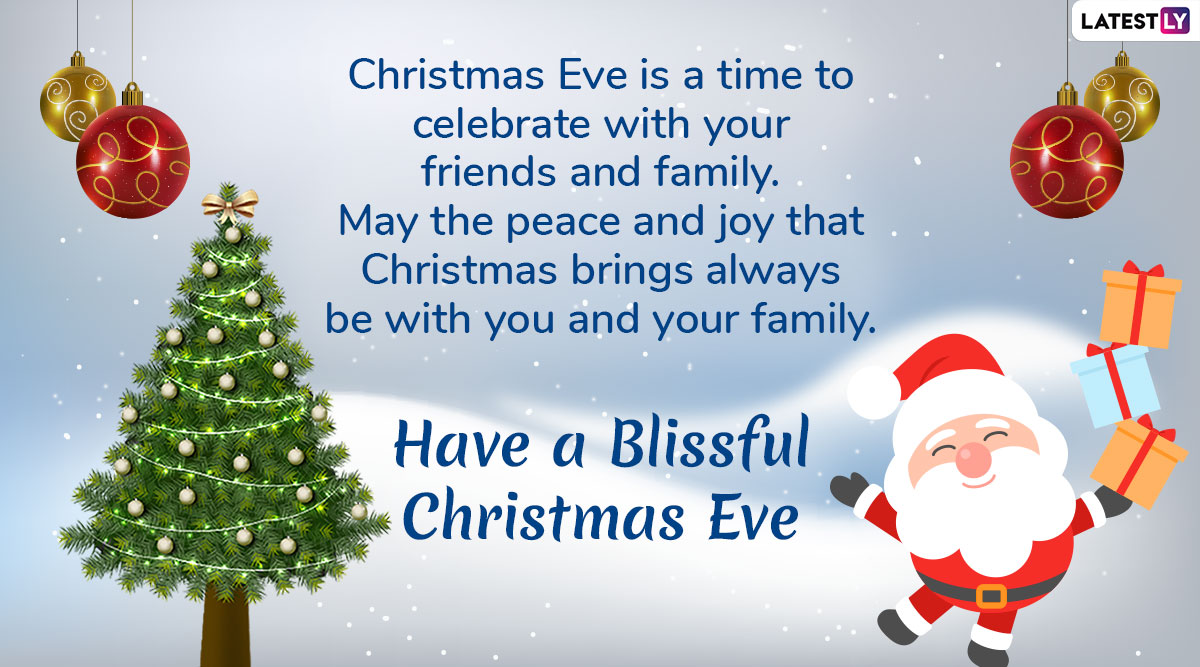 Christmas Eve 2019 Wishes & Images