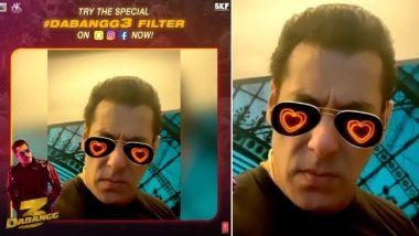 Dabangg 3: Salman Khan's Chulbul Pandey Filter Takes Over Facebook, Instagram and Snapchat!