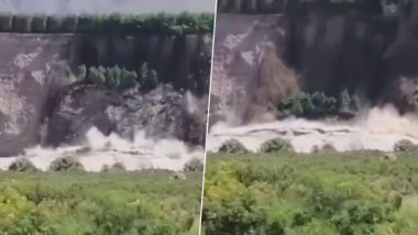 Cliff Tumbles Down Into River After Heavy Rains Cause Flooding in New Zealand, Dramatic Footage Goes Viral