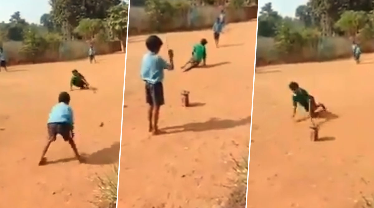 Video of Specially-Abled Boy Sprinting on Hands And Knees to Complete Run Wins Hearts, Twitterati Salute His Passion For Cricket