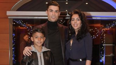 This Photo of Cristiano Ronaldo, Girlfriend Georgina Rodriguez and Son After Christmas Party Proves They Are Perfect Football Family (See Instagram Post)