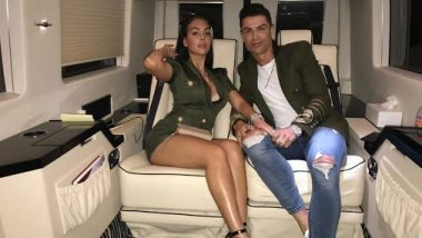 Cristiano Ronaldo & Kids Celebrate Birthday of Georgina Rodriguez (See Pics and Video)