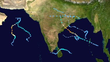 Cyclones In India in 2019: From Cyclone Pabuk to Pawan, Here Are 8 Cyclones That Wreaked Havoc This Year