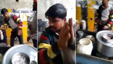 Dalit Youth Beaten Up For Selling Biryani in Noida, His Food Stall Overturned; Watch Video