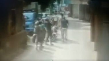 Daman & Diu: 2-Year-Old Boy Falls Off Building's 3rd Floor, Locals 'Catch' Toddler to Save His Life; Watch Video