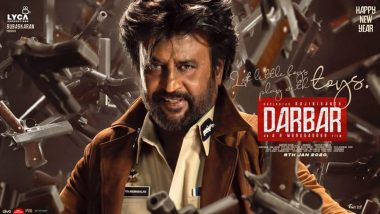 Darbar Poster: Rajinikanth's New Year Treat To His Fans is This Swagger Picture of Himself!