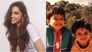 Deepika Padukone Posts an Adorable Childhood Picture With Her Bestie and It is the Perfect Sunday Treat For Her Fans!