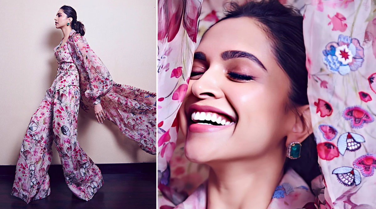 Deepika Padukone Shows Us Why Floral Prints Are Always in Fashion!