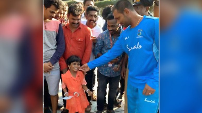 Denesh Ramdin, West Indies Wicket-Keeper, Wins Hearts With His Sweet Gesture Towards 4-Year-Old Fan, See Pics