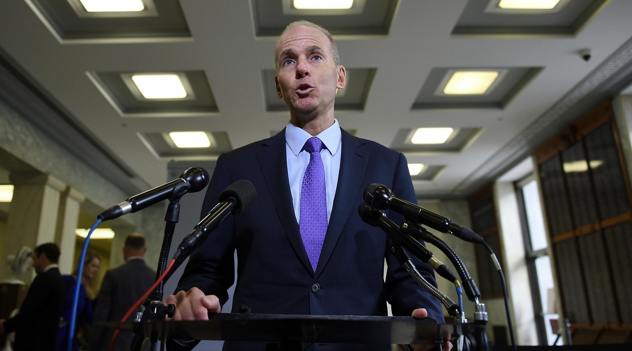 Boeing 737 MAX Crisis: CEO Dennis Muilenburg Steps Down, Chairman David Calhoun Named Chief