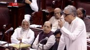 Citizenship Amendment Bill Debate in Rajya Sabha, Live News Updates: CAB Inspired by Nazi Ideology, India Moving Towards Dictatorship, Sats TMC's Derek O'Brien