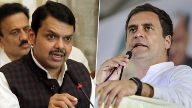 Devendra Fadnavis Questions Shiv Sena's Soft Approach on Insult of Savarkar, Says Rahul Gandhi's Comments 'Shameful'