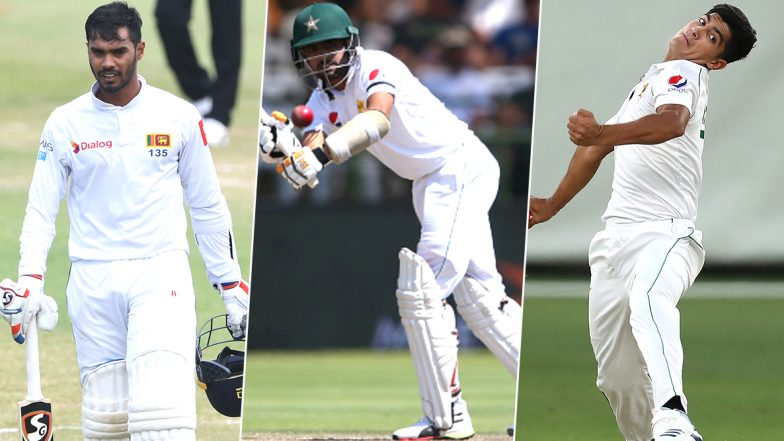 Pakistan vs Sri Lanka, 2nd Test 2019, Key Players: Babar Azam, Dhananjaya de Silva, Naseem Shah and Other Cricketers to Watch Out for in Karachi