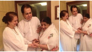 Dilip Kumar Elated With News Of 'Choti Behen' Lata Mangeshkar's Return From The Hospital, Wishes Her A Speedy Recovery (View Tweet)