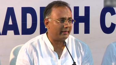 Dinesh Gundu Rao Resigns as Karnataka Pradesh Congress Committee President Hours After Siddaramaiah Quits His Post Following Party's Defeat in Karnataka Bypolls 2019