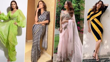 Dia Mirza Birthday Special: The Sanju Actress' Elegant Fashion Choices are Always Here to Make our Day (View Pics)