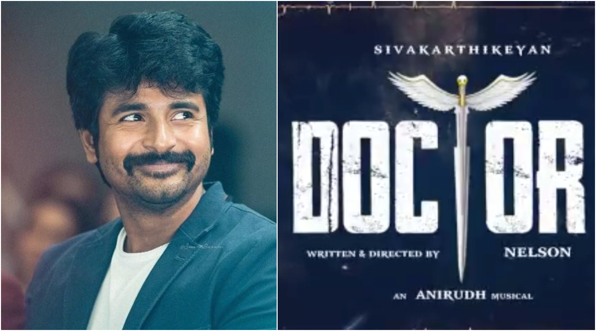 Doctor: Ahead of Hero's Release, Sivakarthikeyan Drops the Motion Poster of His Next With Director Nelson (Watch Video)