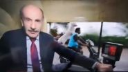 Dog Riding Pillion Photobombs BBC Reporter in India, Hilarious Video Goes Viral