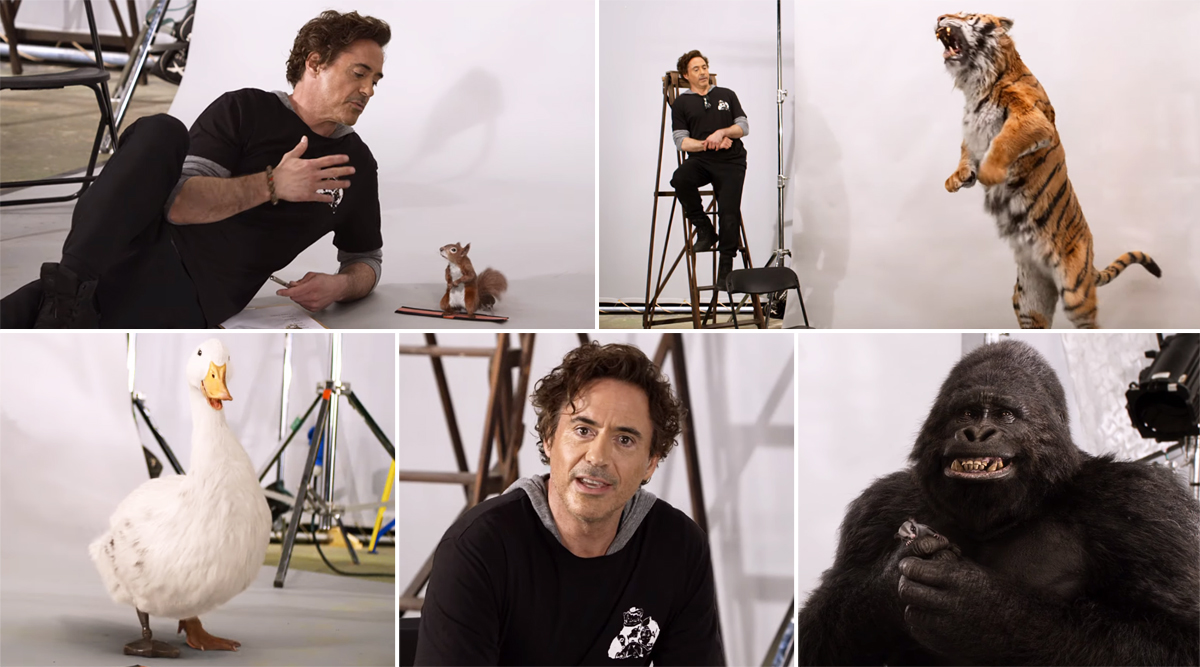 Dolittle: Robert Downey Jr Auditions the Film's Animal Cast and Rami Malek's Chee-Chee, Octavia Spencer's Dab-Dab Will Leave You in Splits