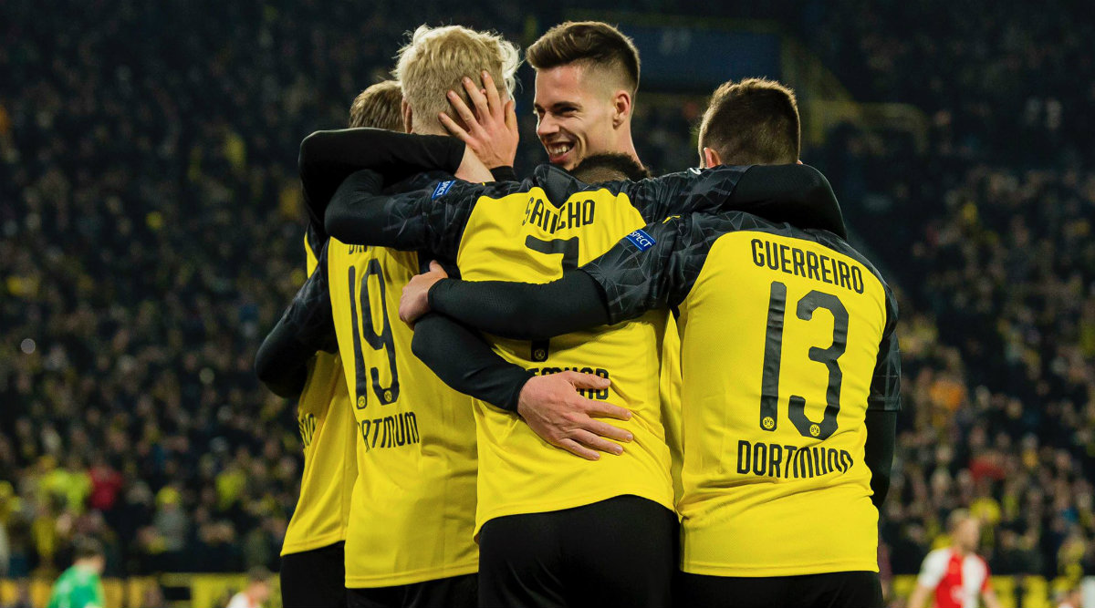 UEFA Champions League 2019–20 Result: Jadon Sancho, Marco Reus Goals Help Dortmund Beat Slavia Praha 2–1 and Secure Last 16 Berth