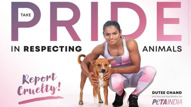 Olympic Sprinter Dutee Chand Stars in New PETA India Ad