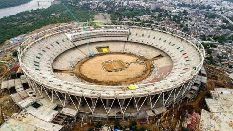 World's Biggest Cricket Stadium Takes Shape in Ahmedabad, Sardar Patel Ground Likely to Host First International Match in 2020