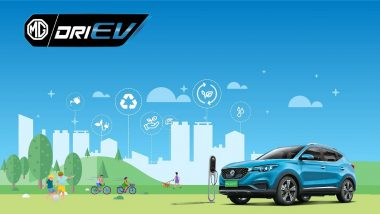 MG ZS EV Electric SUV Launching Today in India; Watch LIVE Streaming of Hyundai Kona Rival's Launch Event
