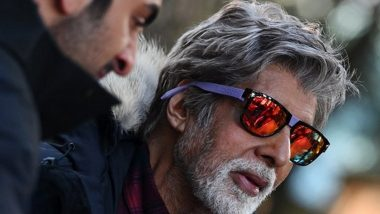 Amitabh Bachchan Shoots in Low Temperature in Manali for 'Brahmastra'